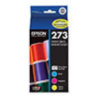 Genuine Epson T273520 Tri-Color Combo Pack Ink Cartridge