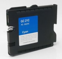 Ricoh GC21C Cyan Remanufactured Ink Cartridge