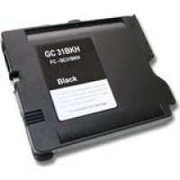Ricoh GC31BK Black Remanufactured Ink Cartridge