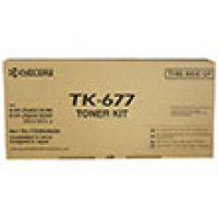 Genuine Kyocera TK-677 Black Toner Cartridge