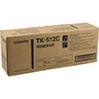 Genuine Kyocera TK512C Cyan Toner Cartridge