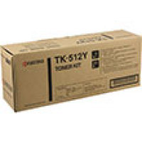 Genuine Kyocera TK512Y Yellow Toner Cartridge