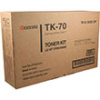 Genuine Kyocera TK70 Black Toner Cartridge