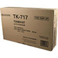 Genuine Kyocera TK717 Black Toner Cartridge