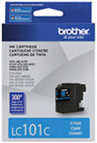 Genuine Brother LC101 Cyan Ink Cartridge