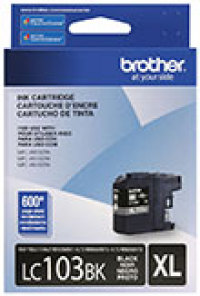 Genuine Brother LC103 Black High Yield Ink Cartridge