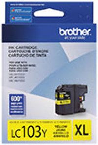Genuine Brother LC103 Yellow High Yield Ink Cartridge