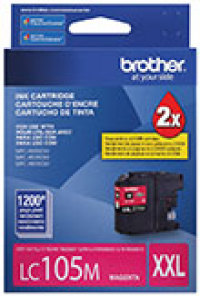 Genuine Brother LC105 Magenta Super High Yield Ink Cartridge