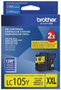Genuine Brother LC105 Yellow Super High Yield Ink Cartridge