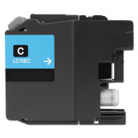 Brother LC10EC Cyan Compatible Ink Cartridge