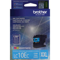 Genuine Brother LC10EC Cyan Ink Cartridge