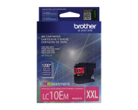 Genuine Brother LC10EM Magenta Ink Cartridge