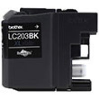 Genuine Brother LC203BK Black Ink Cartridge