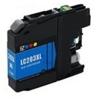 Brother LC203C Cyan Remanufactured Ink Cartridge