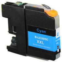 Brother LC205C High Yield Cyan Remanufactured Ink Cartridge