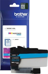 Genuine Brother LC3033C Cyan Inkjet