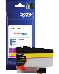 Genuine Brother LC3033Y Yellow Inkjet