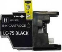 Brother LC75 Black Remanufactured Ink Cartridge