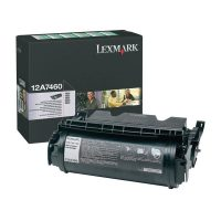 Genuine Lexmark 12A7460 Black Toner Cartridge