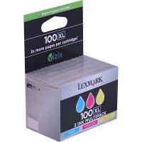 Genuine Lexmark 14N0684 High Yield Color Combo Ink Set