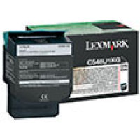 Genuine Lexmark C546U1KG Black High Yield Toner Cartridge