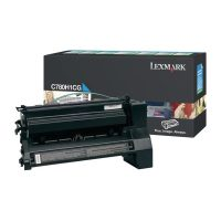 Genuine Lexmark C780H1CG Cyan High Yield Toner Cartridge