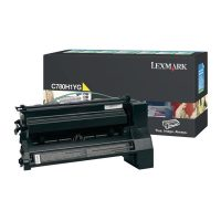 Genuine Lexmark C780H1YG Yellow High Yield Toner Cartridge