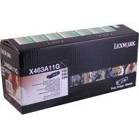 Genuine Lexmark X463A11G Black Return Program Toner Cartridge
