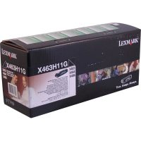 Genuine Lexmark X463H11G Black High Yield Return Program Toner Cartridge