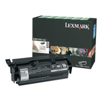 Genuine Lexmark X651H11A Black High Yield Toner Cartridge