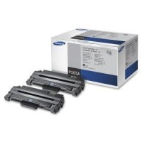 Genuine Samsung MLT-P105A Black Dual Pack Toner Cartridge