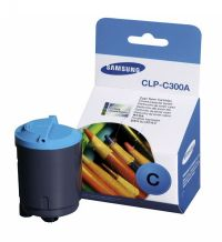 Samsung New Original CLP-C300A Cyan Toner Cartridge