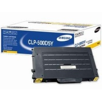 Samsung New Original CLP-500D5Y Yellow Toner Cartridge