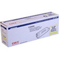 Genuine Okidata 43034801 Yellow Toner Cartridge
