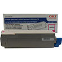 Genuine Okidata 43865718 Magenta Toner Cartridge
