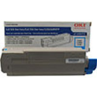 Genuine Okidata 43865719 Cyan Toner Cartridge