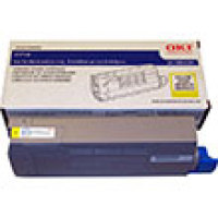 Genuine Okidata 43866101 Yellow Toner Cartridge