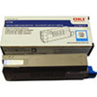 Genuine Okidata 43866103 Cyan Toner Cartridge