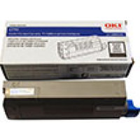 Genuine Okidata 43866104 Black Toner Cartridge