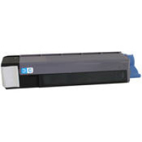 Okidata 43487735 New Generic Brand Cyan Toner Cartridge
