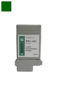 Canon PFI-101G Green Remanufactured Ink Cartridge
