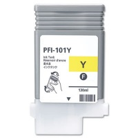 Canon PFI-101Y Yellow Remanufactured Ink Cartridge