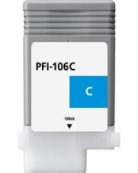 Canon PFI-106C Cyan Remanufactured Ink Cartridge