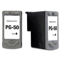 Canon PG-50 Black Remanufactured Ink Cartridge (PG50)