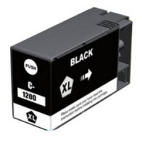 Canon PGI-1200xlBK Black Remanufactured Ink Cartridge