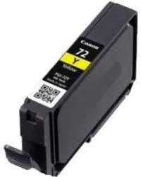 Canon PGI-72Y Yellow Remanufactured Ink Cartridge