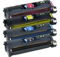 HP 122A Set Remanufactured Toner (Q3960A/Q3961A/Q3962A/Q3963A)