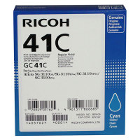Genuine Ricoh 405762 Cyan Toner Cartridge