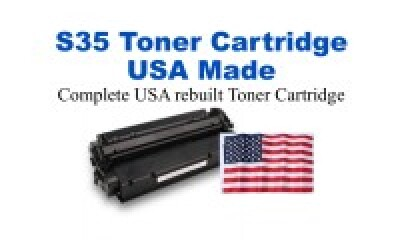 7833A001AA,S35 Black Premium USA Made Remanufactured toner