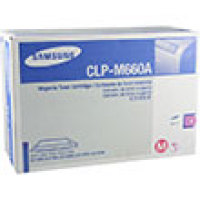 Genuine Samsung CLP-M660A Yellow Toner Cartridge